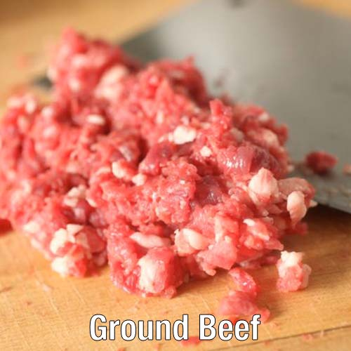 Bauman's 90% lean ground beef