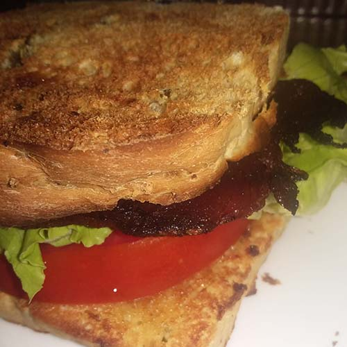 CBLT with Jalapeno Cheddar Bread