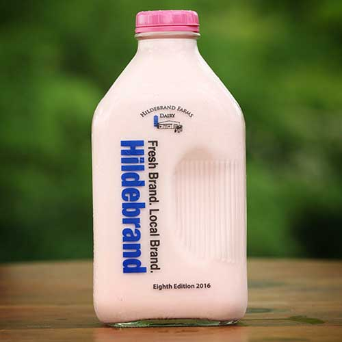Hildebrand Farms Dairy Strawberry Milk