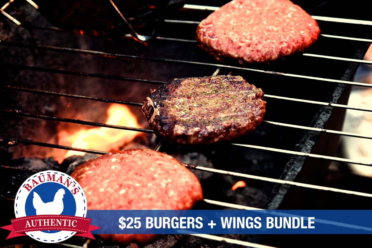 Labor Day Burgers and Wings Bundle