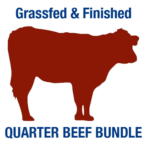 Grassfed and finished Quarter Beef Bundle