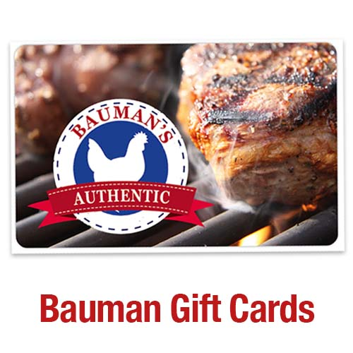 Bauman's Mobile Meat Market Gift Cards