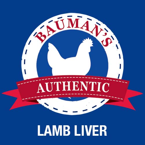 Bauman's Authentic 100% grassfed, pasture raised lamb liver