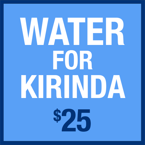 Water for Kirinda Contribution $25