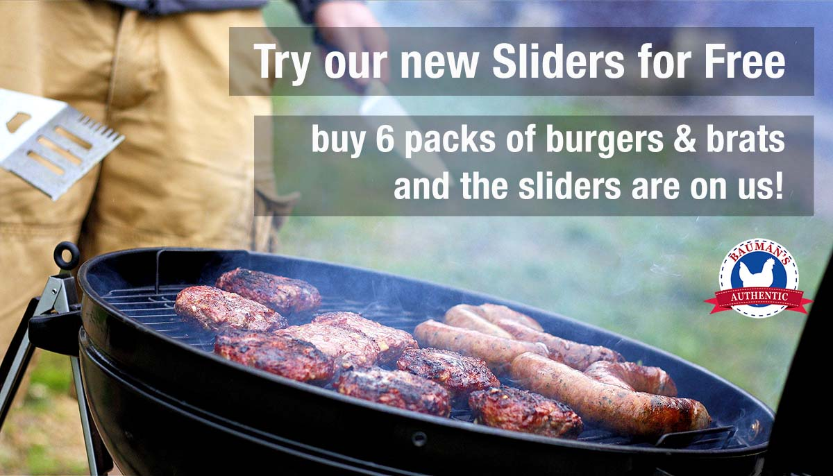FREE SLIDERS with Grill Stock Up Bundle