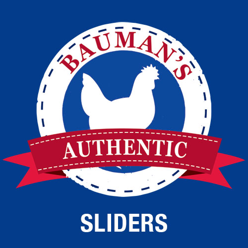 Bauman's Authentic grassfed and finished Beef Sliders